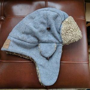 Gap Kids wool hat gray size L/XL